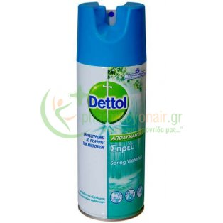 DETTOL - Απολυμαντικό Spray Spring Waterfall 400mL
