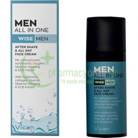 VICAN - Wise Men All In One After Shave & All Day Face Cream 50mL