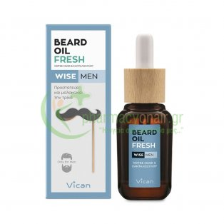 VICAN - Wise Men Beard Oil Fresh 30mL Aftershave