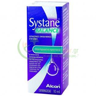 SYSTANE - Balance Λιπαντικές Οφθαλμικές Σταγόνες 10mL Κολλύρια - Σταγόνες