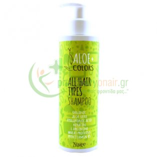 ALOE+ COLORS - All Hair Types Shampoo 250mL Σαμπουάν - Conditioner Μαλλιών