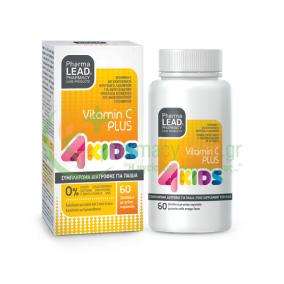 PHARMA LEAD - Vitamin C Plus 4Kids μασώμενα ζελεδάκια 60s